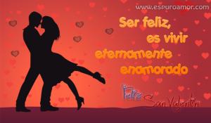 mejores imágenes para san valentin con preciosa tarjeta con pareja de enamorados-