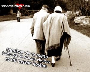 ancianos de amor eterno