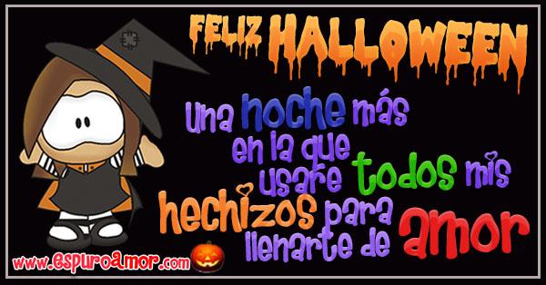 Frases de amor para Halloween