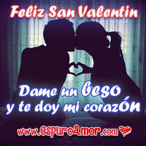 imágenes de san valentin con parejas enamoradas dandose un beso y formando un corazon con sus manos