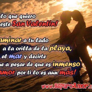 imágenes de san valentin con parejas enamoradas mirandose fijamente en la orilla de una playa