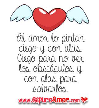 Imagenes de amor con frases motivadoras con bonito corazon con alas
