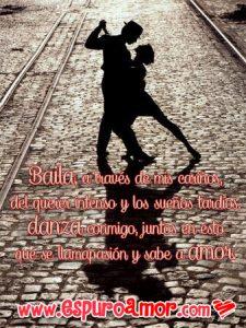 imágenes de arte de amor pareja de enamorados bailando tango en la calle