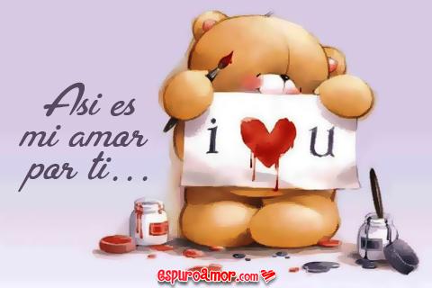 Osito i love you