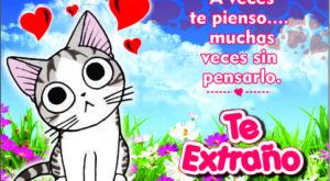 7 Imágenes de Amor con Gatos de Te Extraño