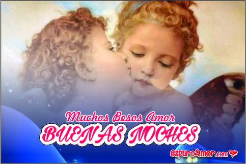 Frases de buenas noches con tiernos angelitos para compartir