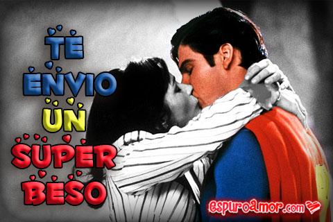 Superman siendo superbesado