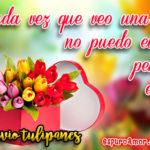 12 Imágenes de Amor para enviar Tulipanes gratis