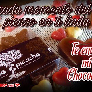 Imágenes de Corazones de Chocolate para Enviar a Tu Pareja