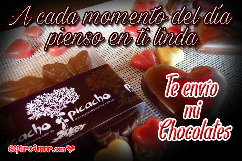 Ricos chocolatitos en forma de corazones