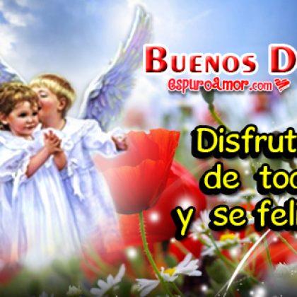 Imágenes de Amor con Lindos Angelitos de Buenos Días