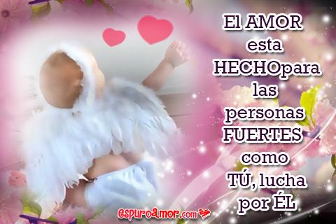 Angelitas cultivando el amor