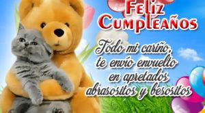 Mensajes de cumpleaños con osos