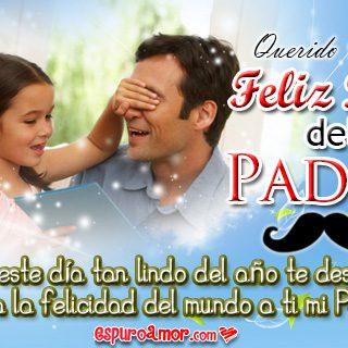 Imágenes de Amor de Papá e Hija con Feliz Día del Padre