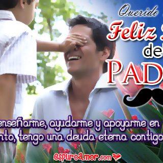 Fotos Tiernas entre Padre e Hijo con Feliz Día Papá