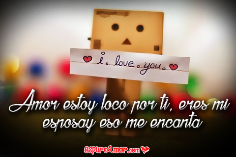 Cajita feliz con i love you