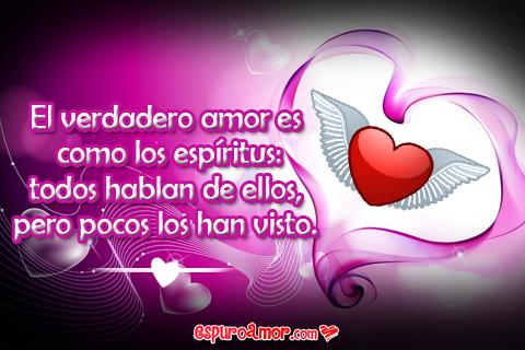 bonita cartel de amor verdadero