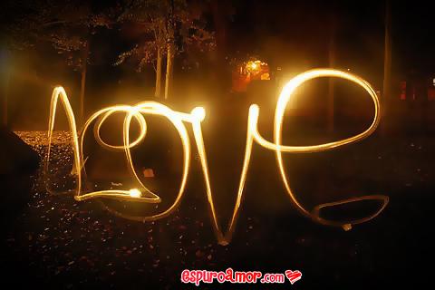 cartel con palabra love
