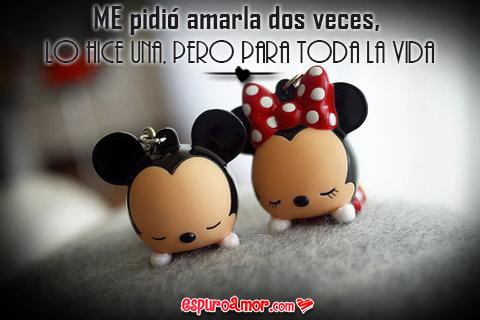 Mickey y Minnie la ame por toda la vida